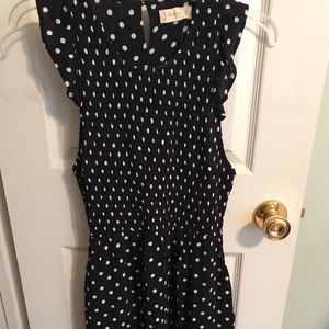 Brand new with tags polka dot dress